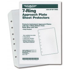 ASA 7-Ring Sheet Prot 10 Pak