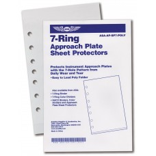 ASA 7-Ring Poly Sheet Prot 10 Pak