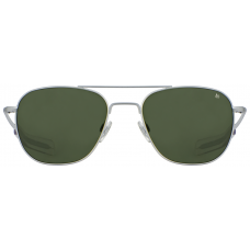 Lentes de sol American Optical Original Pilot. Silver/Green