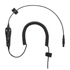 BOSE A20® Cable enrrollado para 6 PIN LEMO con micrófono electrec sin Bluetooth Cable