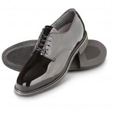 Zapato Militar de Charol Brilloso Capps