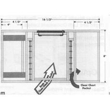 Hendricks Advanced Mini-Trifold Kneeboard