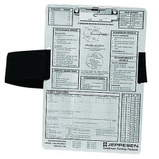 Jeppesen IFR Clipboard with leg strap