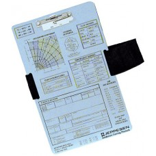 Jeppesen VFR Clipboard with leg strap