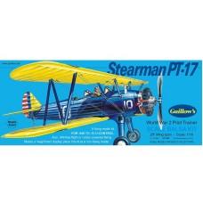 Stearman PT-17 Avión modelo a escala