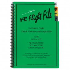 "IFR ""Flight File"" Enroute Chart organizer with tabs"