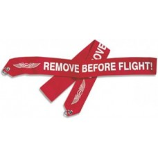 ASA Remove Before Flight Banner on Ring