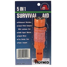 Rothco Deluxe 5-in-1 Survivor Tool