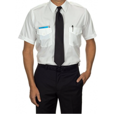 Van Heusen Commander Camisa para piloto Manga Corta