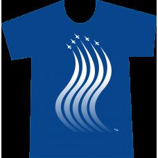 """Camiseta """"Estela de Aviones"""" Hombre"""