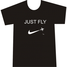 "Camiseta ""Just Fly"" Hombre"