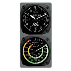 Trintec Classic Altimeter/Airspeed Clock & Thermometer Set 9060/9061
