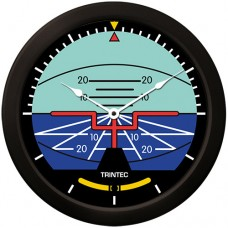 "Trintec 14"" Classic Artificial Horizon Clock 9063-14"