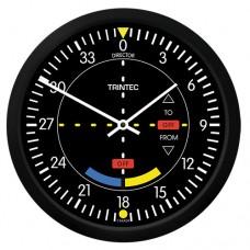 """Trintec 10"""" Classic VOR Round Clock 9064-10"""