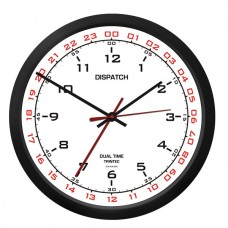 "Trintec 10"" Dispatch Dual Time Clock DSP-02"